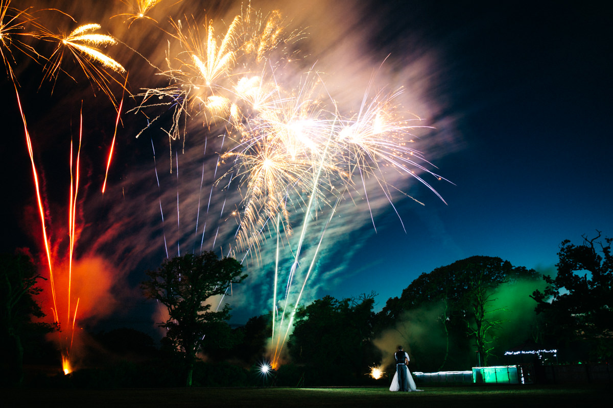 Richard Savage Photography - Home Page - Oldwalls wedding, Oldwalls Gower,UK wedding photographer, Welsh wedding photographer, Swansea wedding photographer, Gower wedding, bride and groom portrait, wedding fireworks, bride and groom fireworks, summer wedding, anna campbell bridal, alternative wedding dress