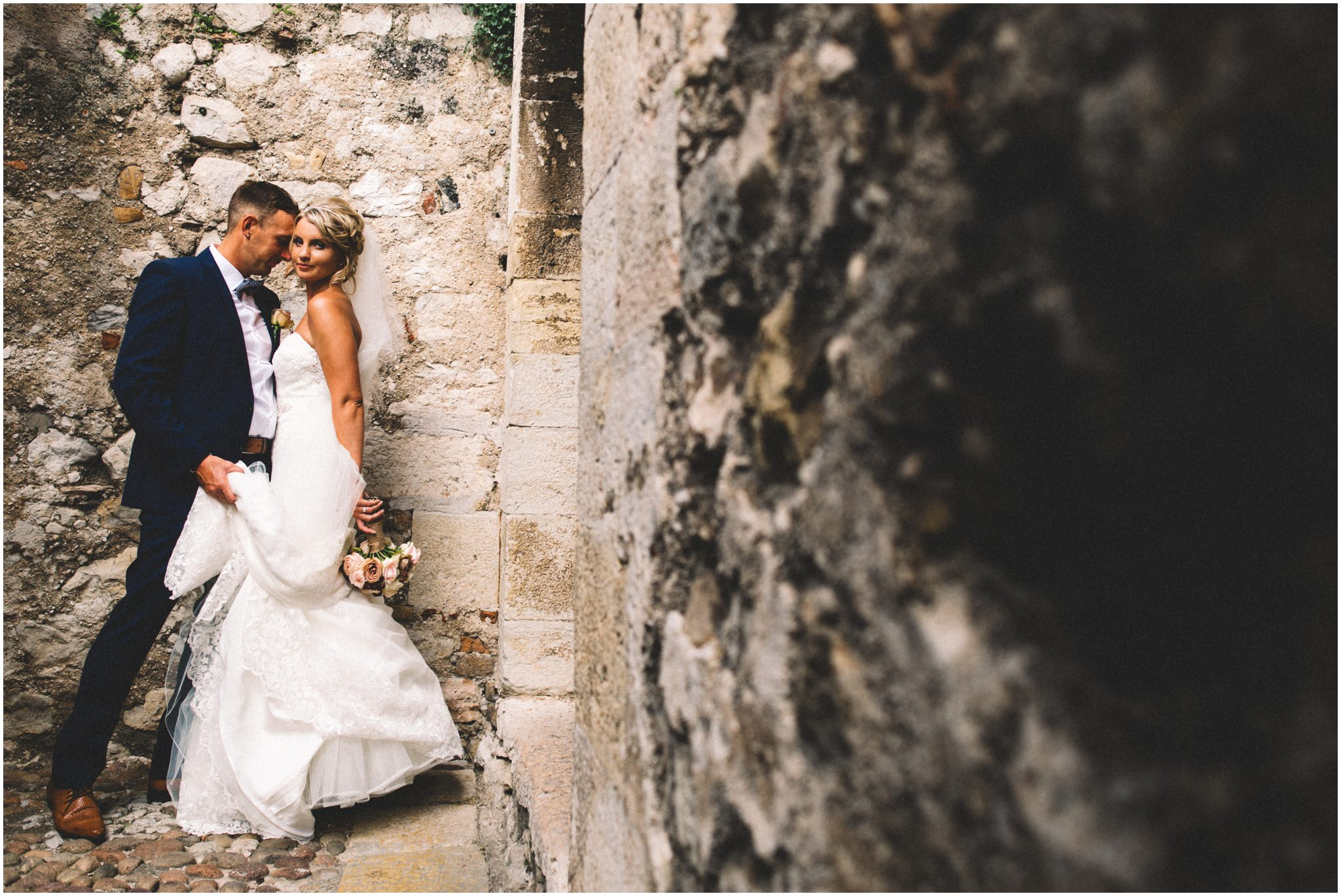 Lake Garda Malcesine Castle Wedding Photography