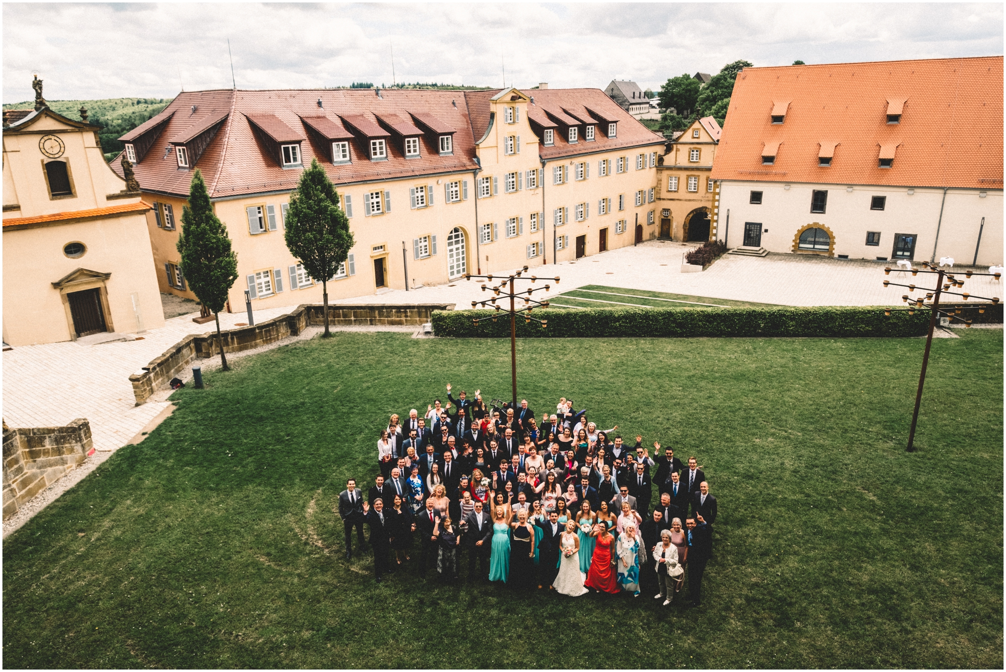 Destination Wedding Photography Germany at Schloss Kapfenburg