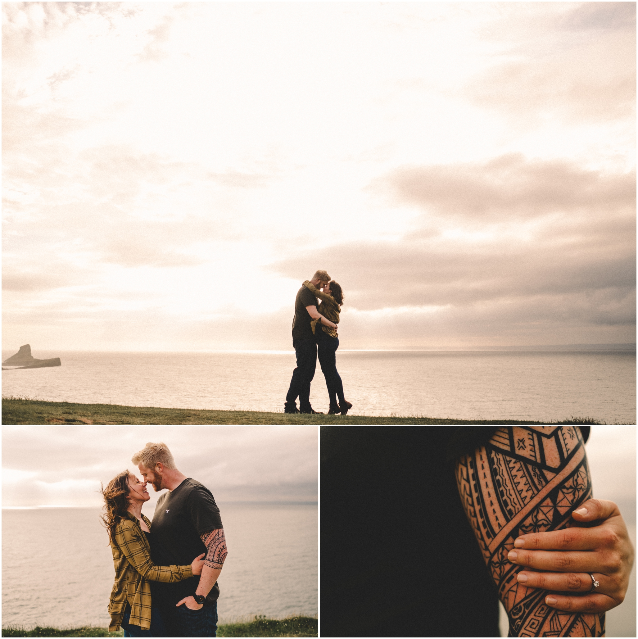 Engagement Photography Wormshead Rhossili