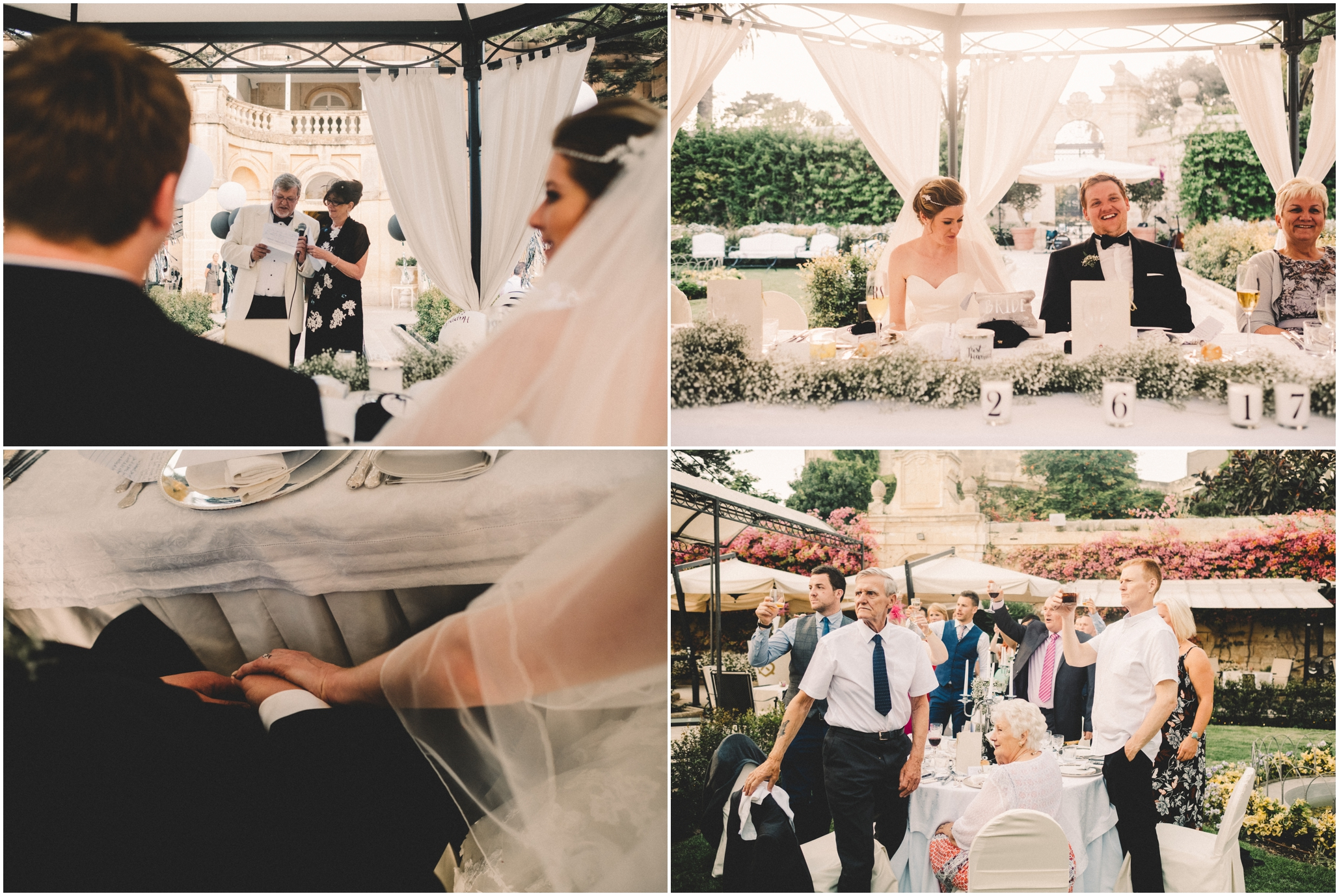 Malta Destination Wedding Photography at The Palazzo Parisio
