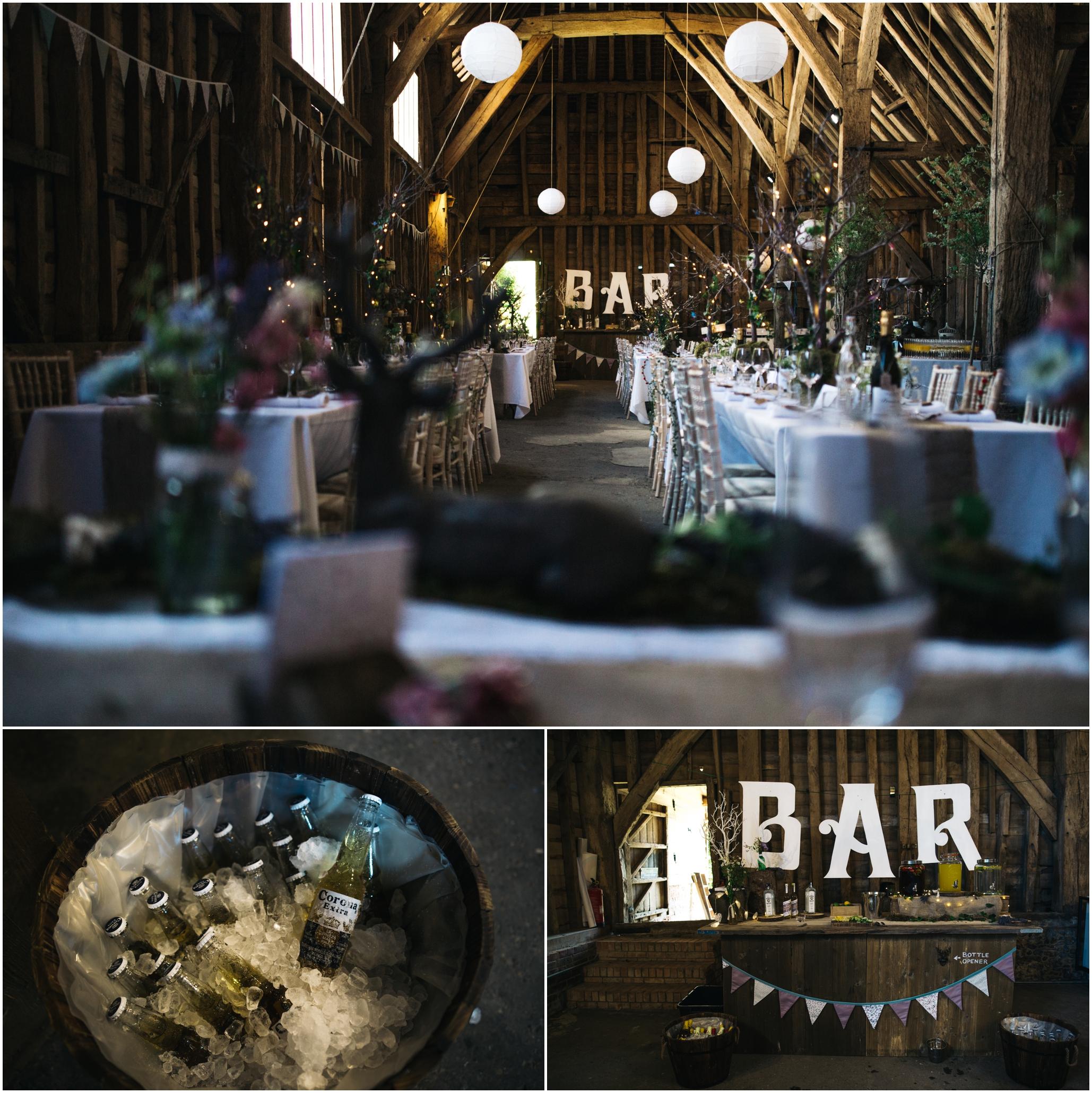St Albans Boho Barn Wedding Inn On The Park