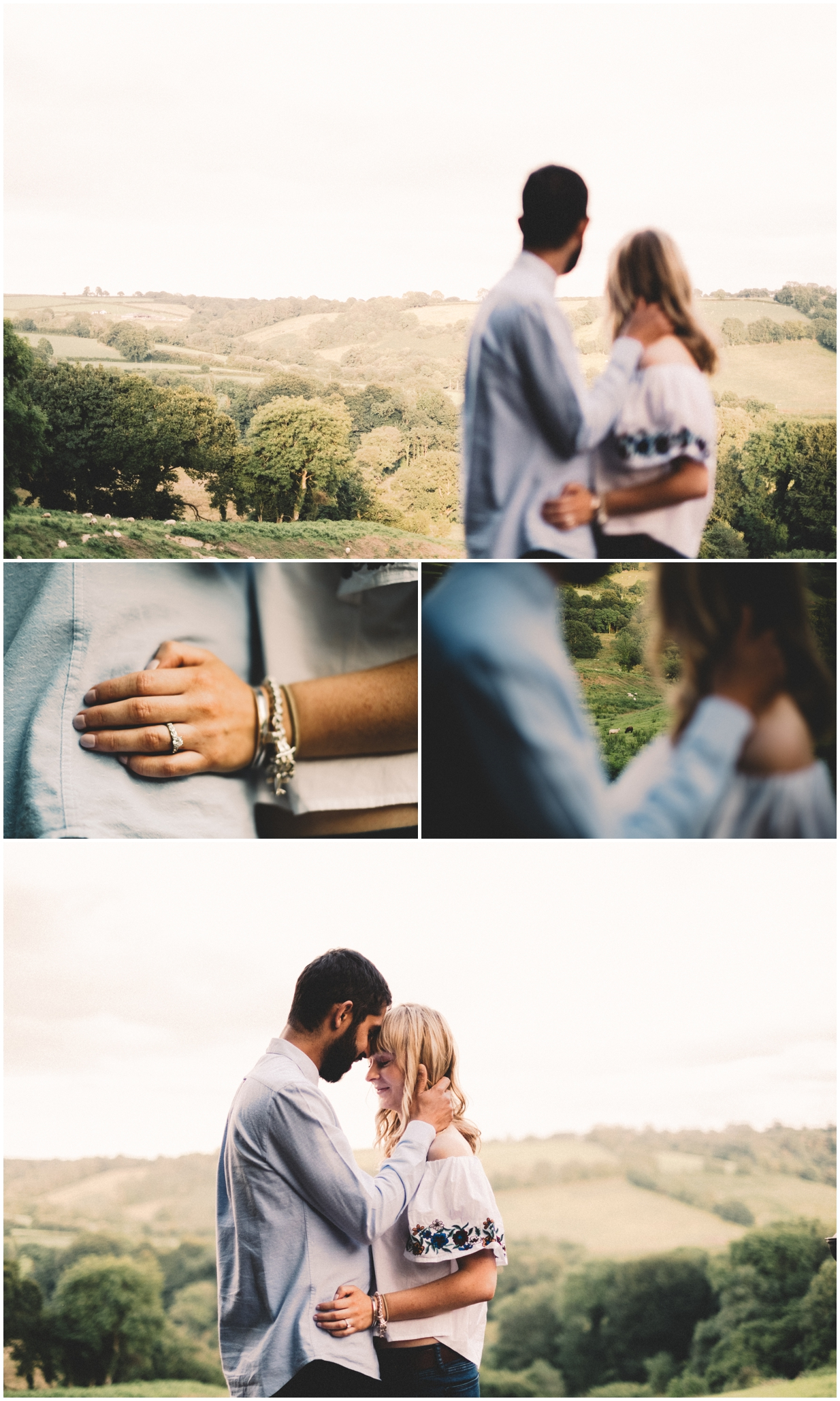 Farm Engagement Photography