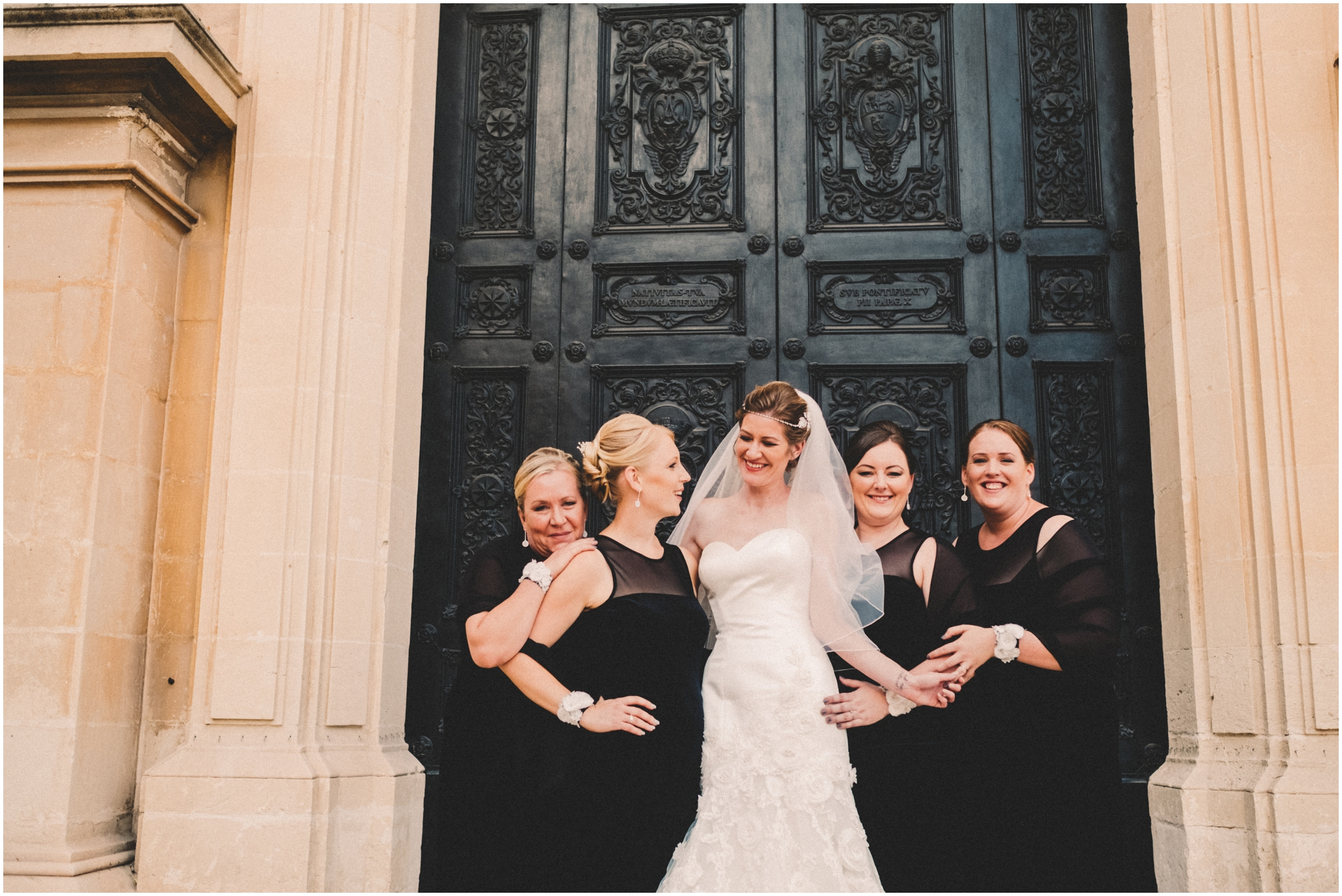 Malta Destination Wedding Photography at The Palazzo Parisio